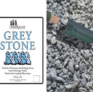 bagged grey stone