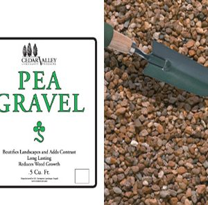 Pea Gravel cubic feet
