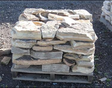 Wall stone mountain laurel