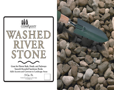 Washed River stone