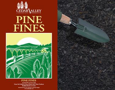 Pine fines